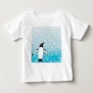 Penguin In The Snow Baby T-Shirt