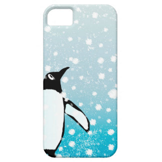 Penguin In The Snow iPhone 5 Cover