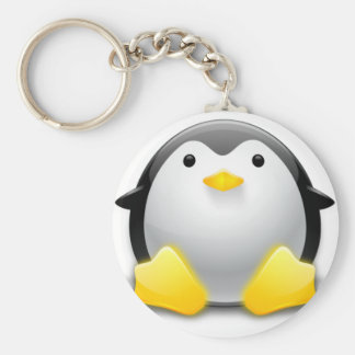 penguin key chain