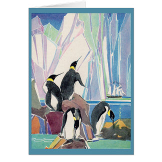 penguin land card