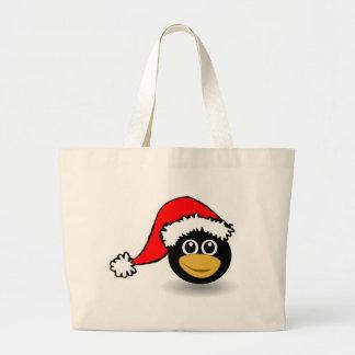 penguin large tote bag