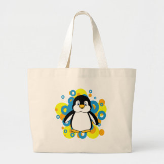 penguin large tote bag