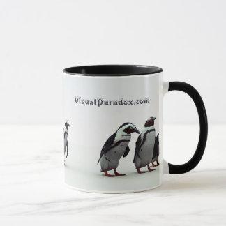 Penguin Line-up Mug