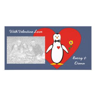 Penguin Love Valentine Photo Cards