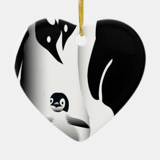 Penguin Mug Ceramic Ornament