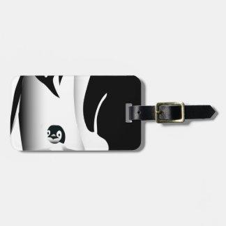 Penguin Mug Luggage Tag