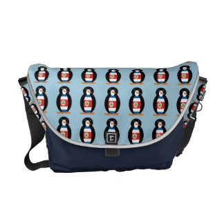 Penguin of Costa Rica Courier Bags