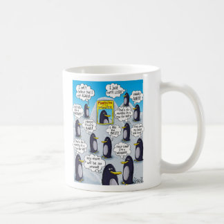 Penguin of the Month. Coffee Mug