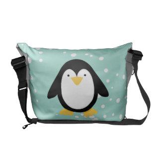 Penguin Pals Messenger Bags