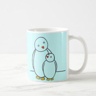 Penguin Parent Love Coffee Mug