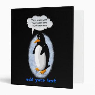 Penguin Party Animal Binders