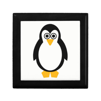 Penguin Party Gift/Jewellery Box