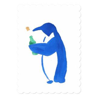 Penguin Party Invitation