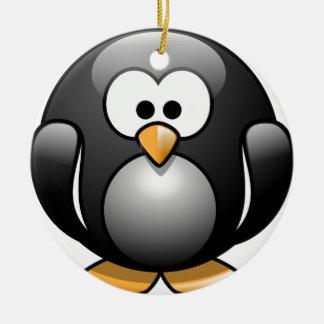 Penguin/Penguin Ceramic Ornament