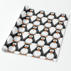 penguin - penguin wrapping paper