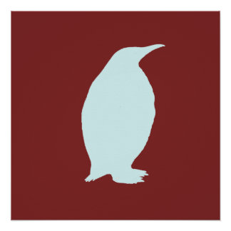 penguin perfect poster