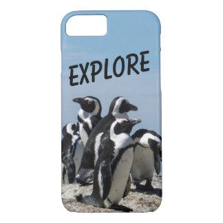 Penguin phone case