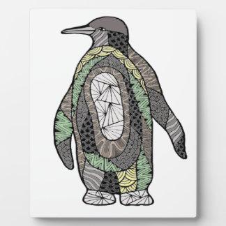 Penguin Plaque