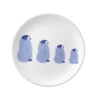 Penguin Porcelain Plate