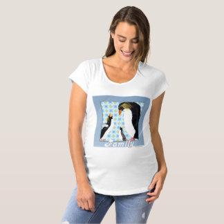 Penguin Portrait Maternity T-Shirt
