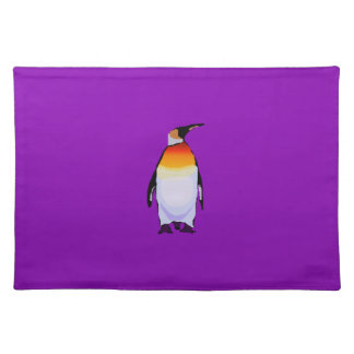 Penguin Purple Placemat