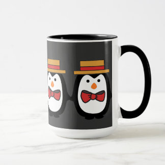 Penguin Quartet Mug