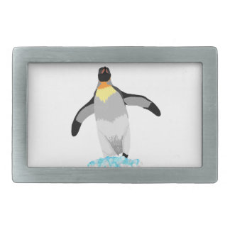 Penguin Rectangular Belt Buckles