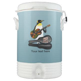 Penguin Reggae Guitar Cooler