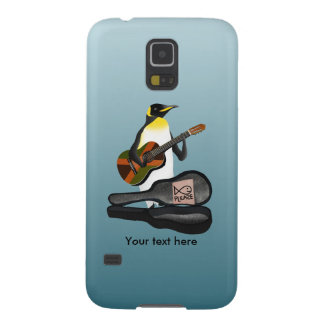 Penguin Reggae Guitar Galaxy S5 Case