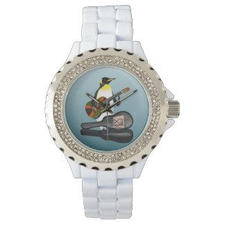 Penguin Reggae Guitar Watch