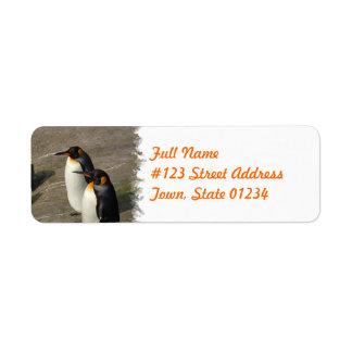 Penguin Return Address Label
