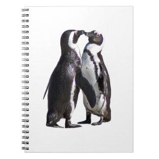 Penguin Romance Spiral Notebooks