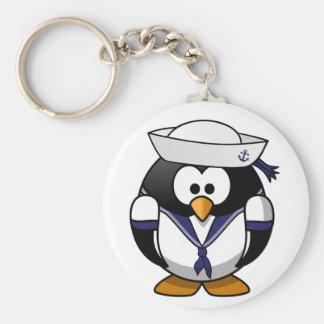 Penguin Sailor Keychain