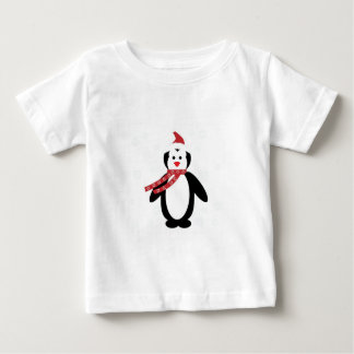 Penguin Santa Baby T-Shirt