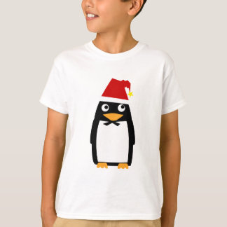 Penguin_santaHat T-Shirt