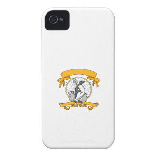 Penguin Shovel Chick Dreamcatcher Drawing iPhone 4 Covers
