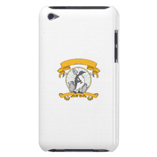 Penguin Shovel Chick Dreamcatcher Drawing iPod Touch Cover