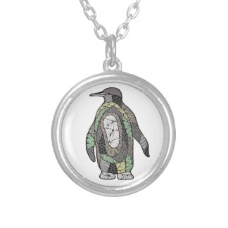Penguin Silver Plated Necklace