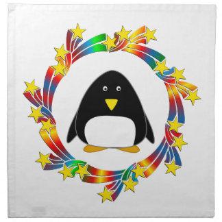 Penguin Stars Napkin