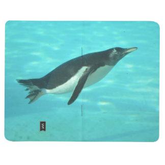 Penguin Swimming Underwater Journal