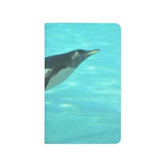 Penguin Swimming Underwater Journals