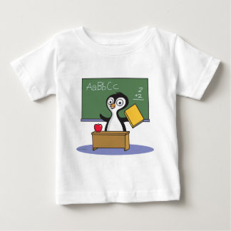 Penguin Teacher Baby T-Shirt