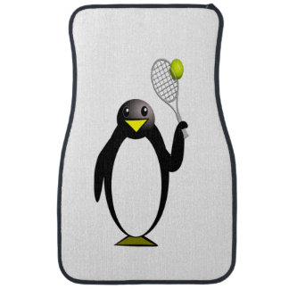 Penguin Tennis Car Carpet