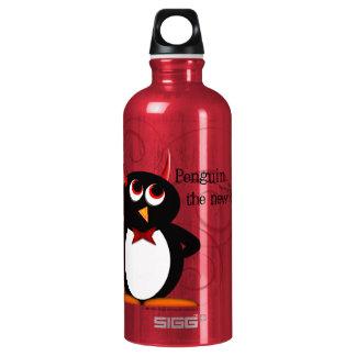 Penguin, the new black water bottle