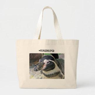 Penguin Tote for penguin lover Jumbo Tote Bag