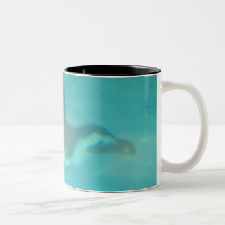 Penguin Two-Tone Coffee Mug
