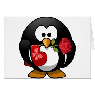 Penguin Valentine Notecard