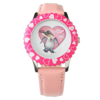 Penguin Valentine's Day Watch