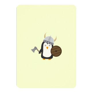 Penguin Viking Card