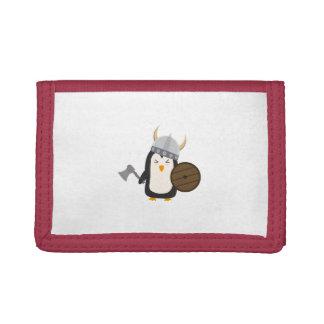 Penguin Viking Tri-fold Wallets